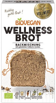 Brotbackmischung Wellness, BIO