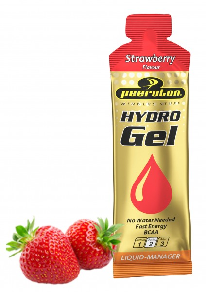 HYDROGEL mit BCAA 60ml Hydrofast Energy Strawberry